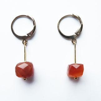 karneol earrings